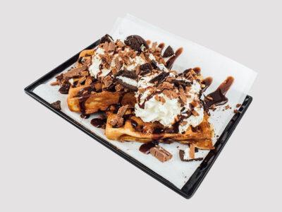 Oreo Tim Tam Waffles